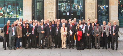 Group shot of a conference concluding the German-South African Year of Science