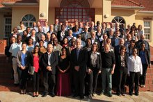 Group shot of the participants of the Matchmaking Conference