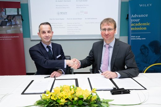 Wiley and Projekt DEAL partner to enhance the future of scholarly research and publishing in Germany